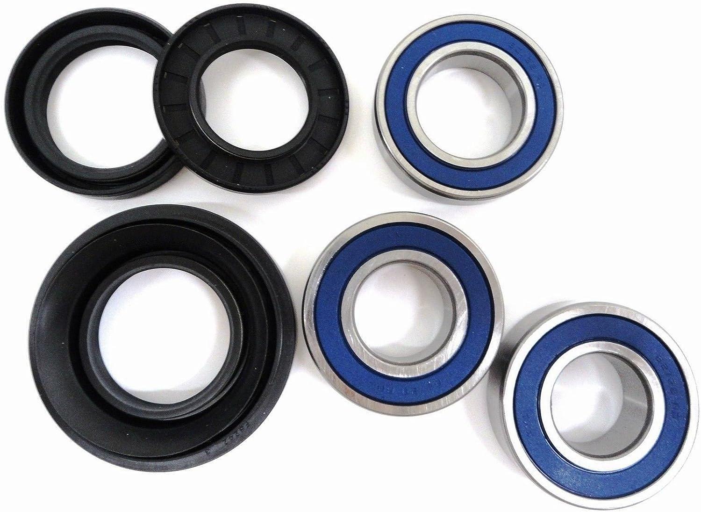 Honda TRX 350 Rancher front cv axles wheel bearings /& seals set 2000 2001-2005