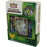 Pokemon Cards - Mythical Pokemon Collection - CELEBI (2 Packs, 1 Foil & 1 Pin)