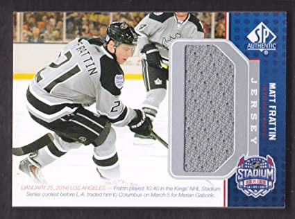 Image Unavailable. Image not available for. Color  2014-15 SP Game Used  Hockey Stadium Series Jersey  SS-MF Matt Frattin 99cfd8c83