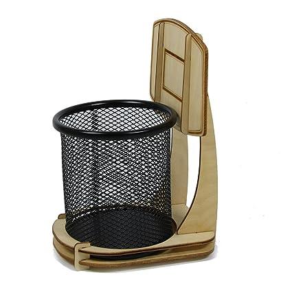 Ducomi® Jordan - Portalápices con forma de canasta de baloncesto ...
