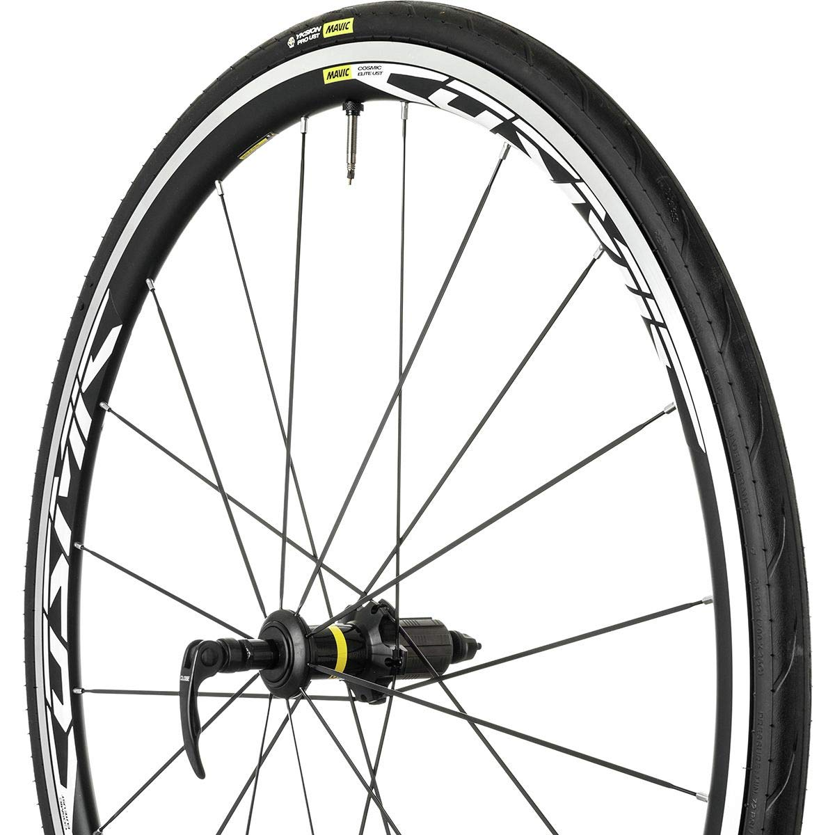 Mavic Cosmic Elite UST Wheel Black, Front by Mavic