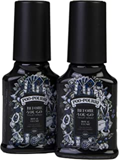 product image for Poo-Pourri na342 Royal Flush Before You Go Spray 2 oz-2 Pack, 2 Ounce (2 Count), Blue, 4 Fl Oz
