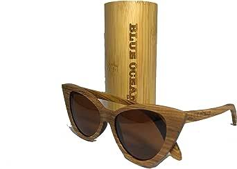 نظارات شمسية خشبية مصنوعة يدوياً