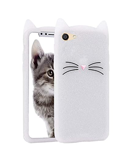 brand new 32041 58d0b Wprie Vivo V5 3D Cute Cat Meow Soft Silicone Back: Amazon.in ...