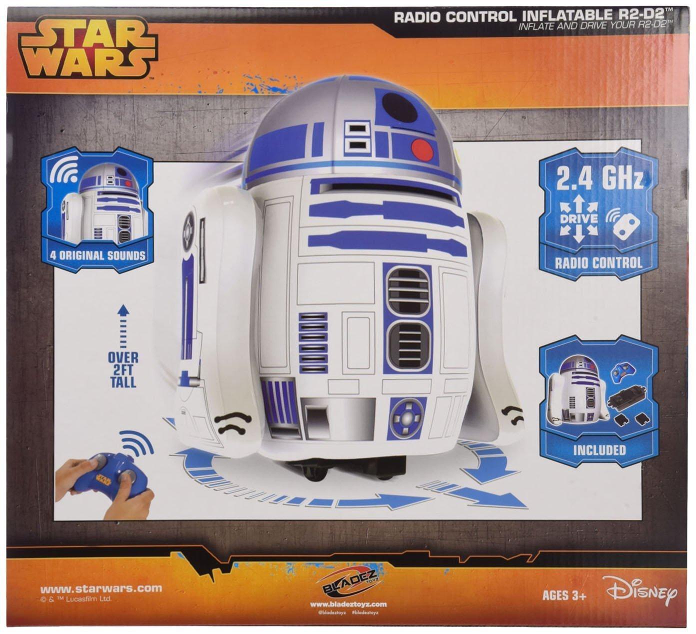 Bladez - Star Wars Droide R2-D2 Hinchable RC sin Sonido
