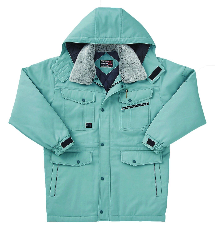 [サンエス]SUN-S【防寒コート】スタンダードデザインのエコ防寒ウェア《099-AG30211》 B00OA51HUS 4L|7 グリーン 7 グリーン 4L