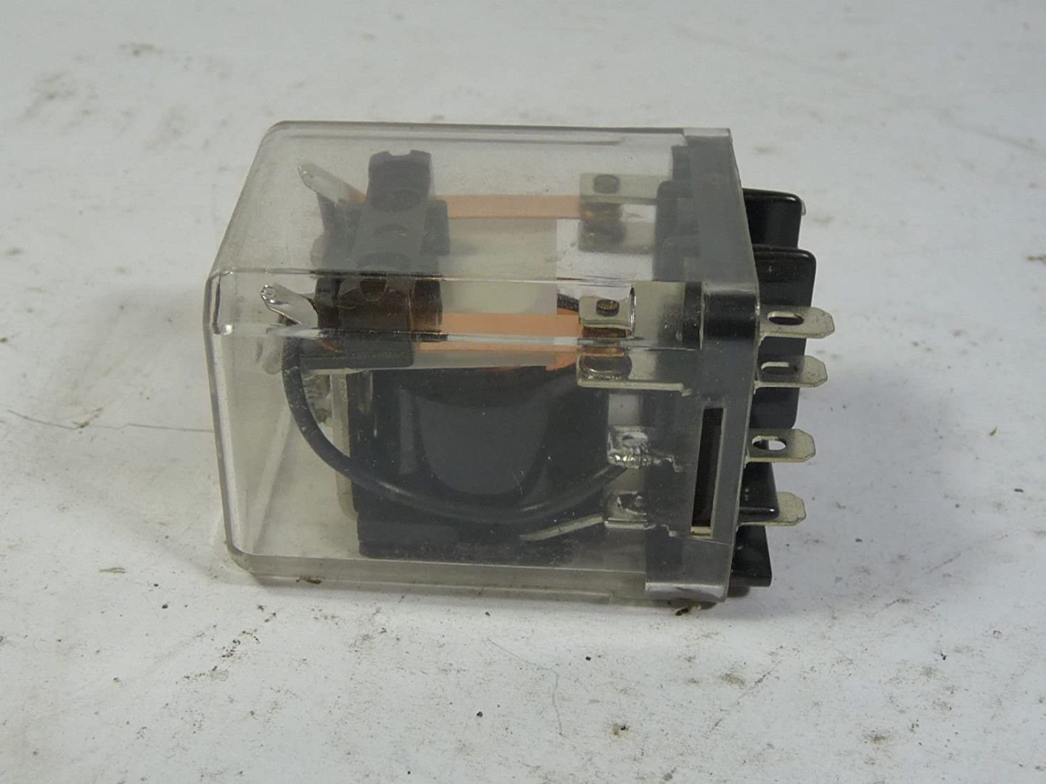 TE CONNECTIVITY/POTTER & BRUMFIELD KUP-11A15-120 Power Relay, DPDT, 120VAC, 10A, Plug in
