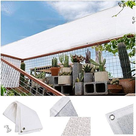 Toldo Vela Al Aire Libre Jardín Patio Yarda Partido Malla de Sombra 4x3m 3x2m Bloqueador Solar Tela de Sombra Toldos 98% de Bloqueo UV Rectángulo con Cuerda Libre Cubierta Vegetal Toldos: Amazon.es: