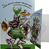 """Geburtstagskarte """"Ständchen"""" Borussia Mönchengladbach"""