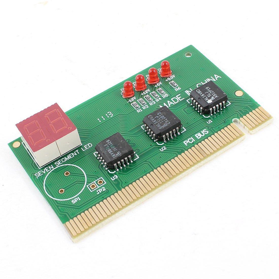 Computadora PC PCI 2 dígitos de la placa base del anuncio ...