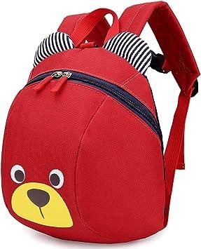 Toddler Kids Bear Anti-lost Backpack For Kids Children Animals Kindergarten School Bags
