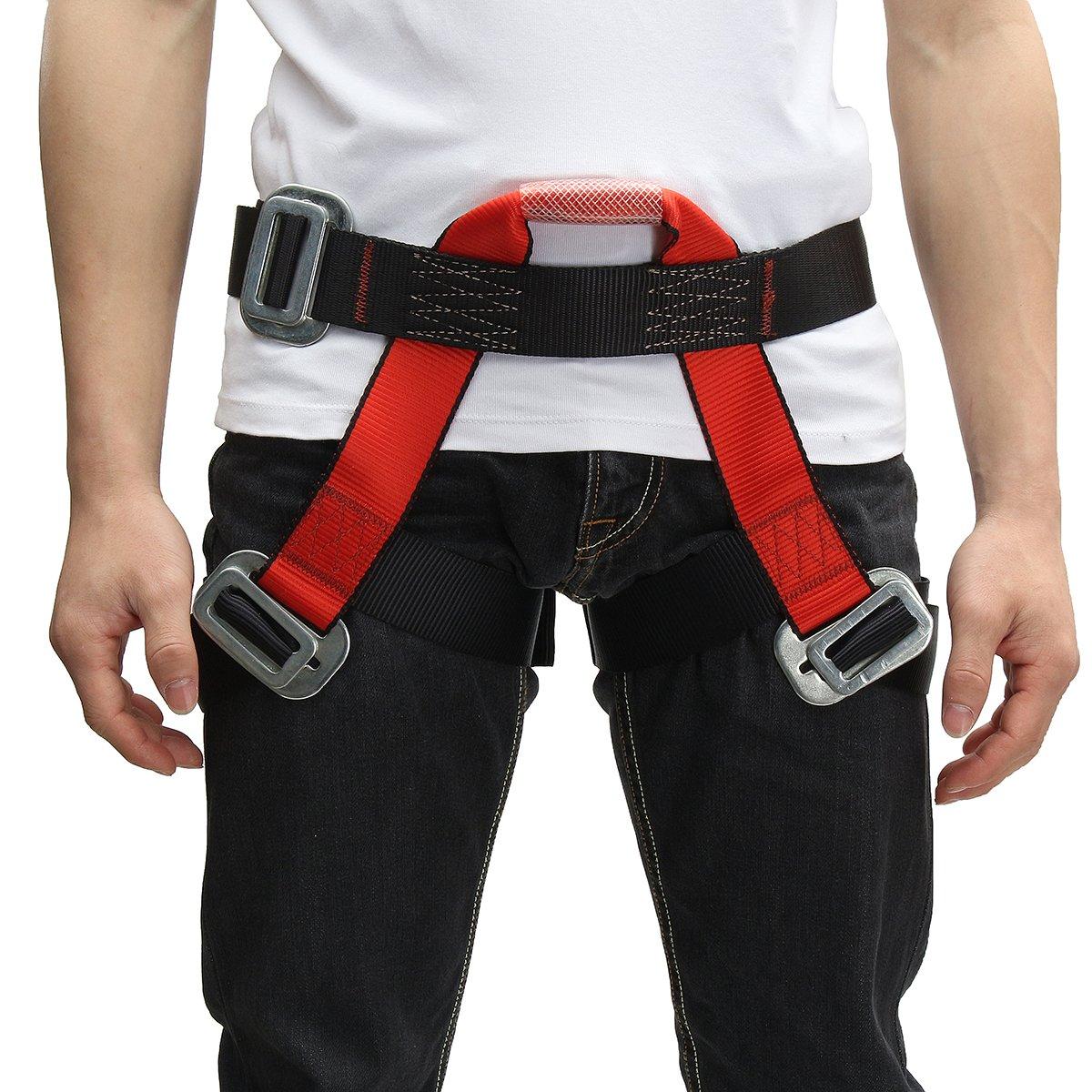 QOJA outdoor mountain rock climbing rappelling harness bust belt by QOJA (Image #2)