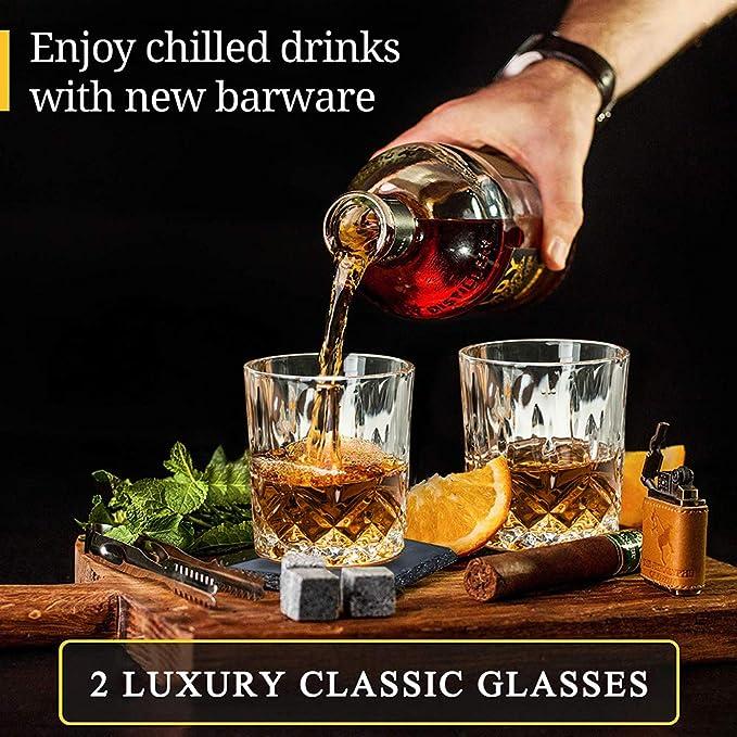 Juego de piedras de whisky WOOANY – Las mejores rocas de ...