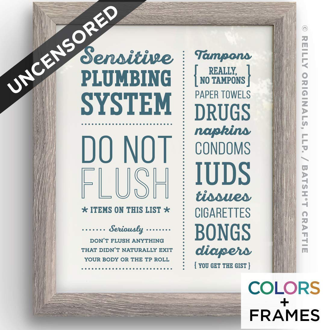 graphic regarding Free Printable Do Not Flush Signs referred to as : Humorous Do Not Flush Septic Process Toilet Decor