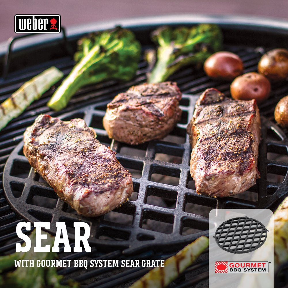 Weber 8834 Gourmet BBQ System Sear Grate by Weber (Image #4)