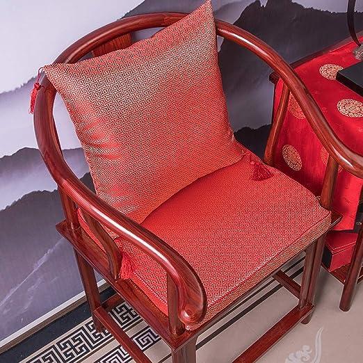 Pad cojín de la silla de estilo chino, Asiento del cojín del ...