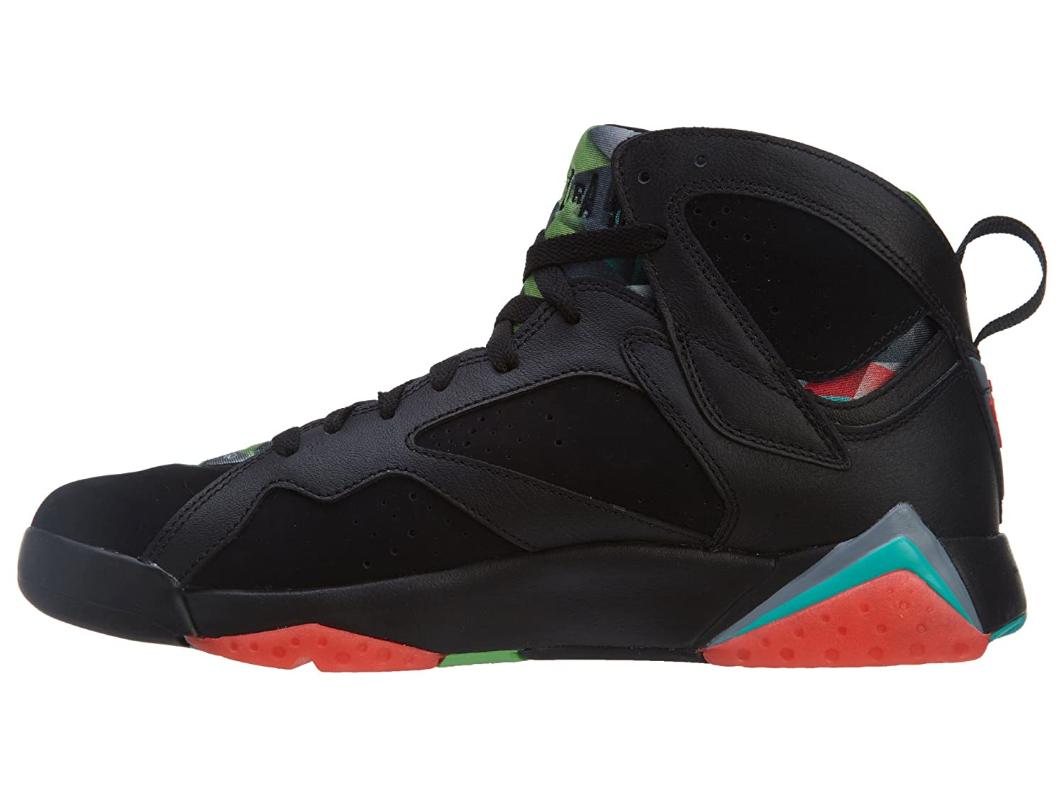 c9952c3e6a4d5 Nike Mens Air Jordan 7 Retro 30th Marvin Martian Black/Infrared 23-Blue  Graphite Suede Size 9. 5 Basketball Shoes: Buy Online at Low Prices in  India ...