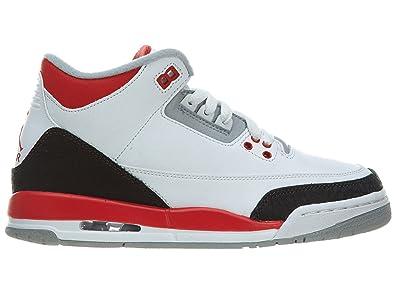 nouveau style a694e f4566 Amazon.com | Nike AIR JORDAN Retro 3 (GS) unisex-teen 398614 ...
