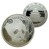 Pièces commémoratives de pièces de pièce de monnaie de Panda chinois de pour la collection Pièce commémorative du panda géant chinois pièces de monnaie