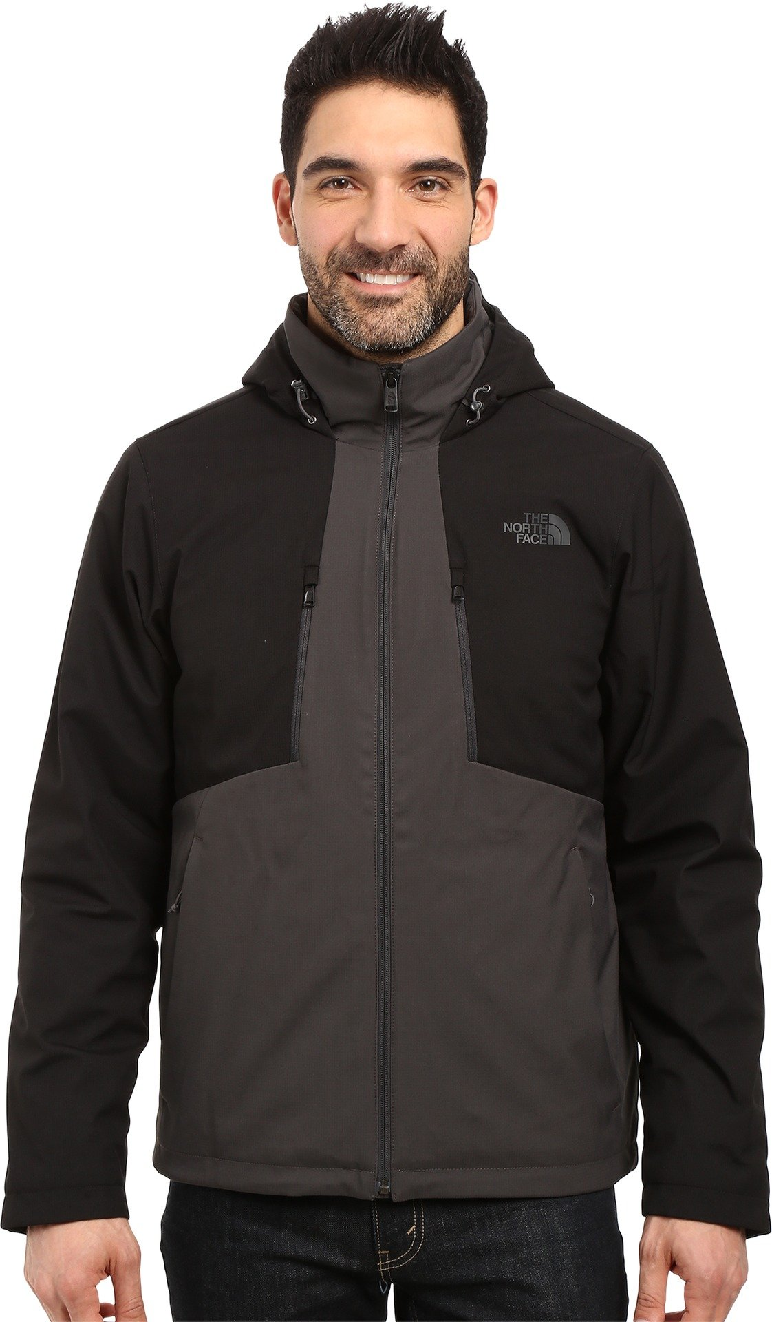 The North Face Men's Apex Elevation Jacket Asphalt Grey/TNF Black (Prior Season) Large by The North Face