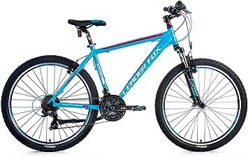 26 pulgadas aluminio Leader Fox MXC bicicleta MTB Negro Verde ...