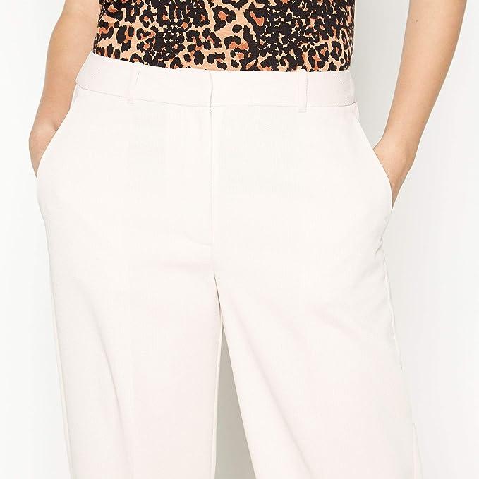 Principles Brown Mock Tencel Suit Trousers