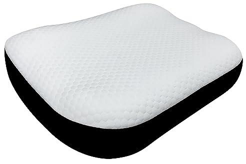 Pikolin Home   Viskoelastisches Anti Schnarch Kissen, Waschbarer Bezug,  Festigkeit Mittel Soft