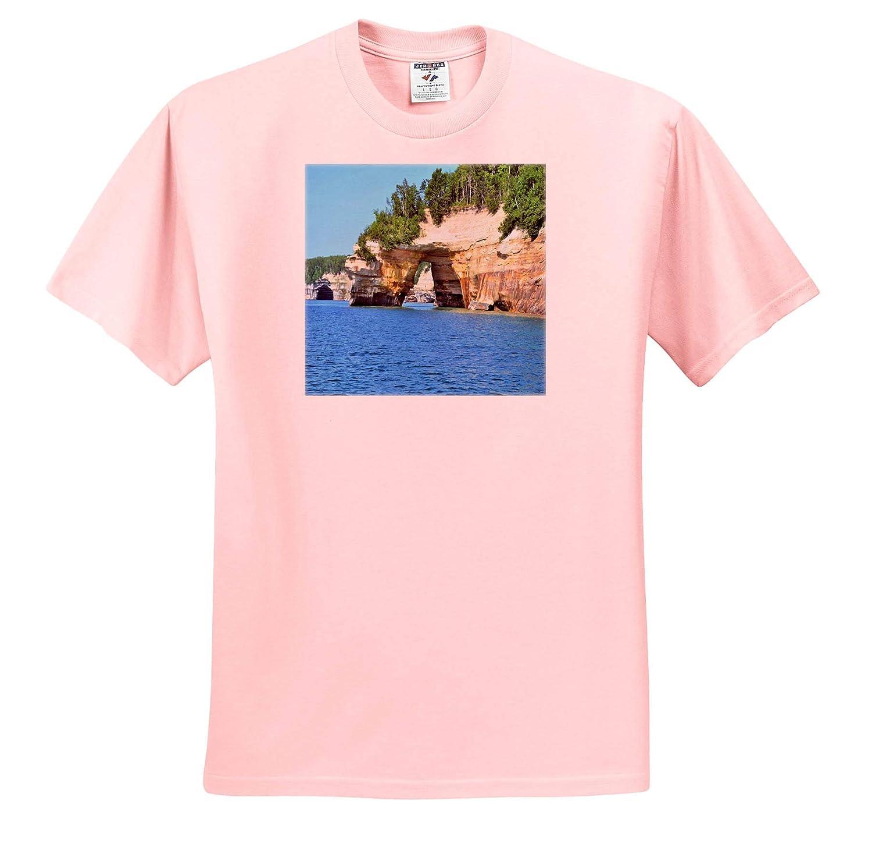 Adult T-Shirt XL Petit Portal Scenery ts/_314274 3dRose Dreamscapes by Leslie
