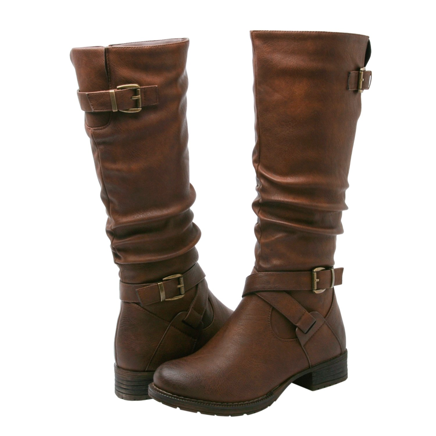Women's KadiMaya1622-3 Boots 6.5M,Brown22 by Global Win (Image #1)