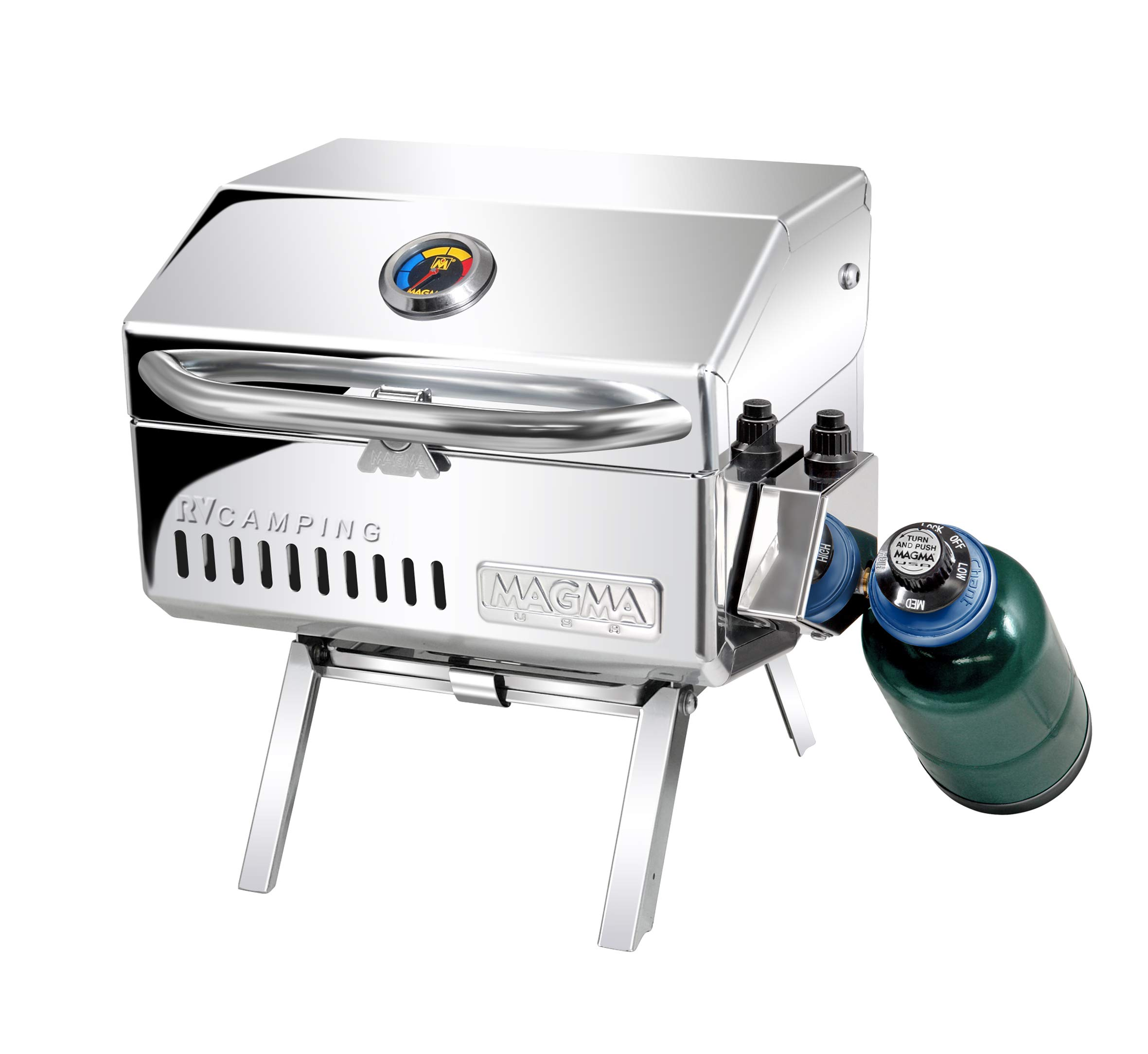 Magma C10601T Mesquite, Traveler Series Gas Grill, One Size Stainless Steel