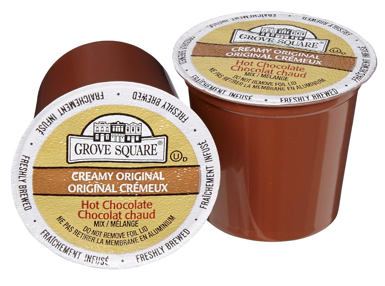 Grove Square Hot Chocolate Mix, 24 Single Serve Cups: Amazon.ca ...