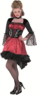VA VA VAMPIRE TEEN LARGE 11-13  sc 1 st  Amazon.com & Amazon.com: Amscan Teen Girls Midnight Vampire Costume - Large: Toys ...