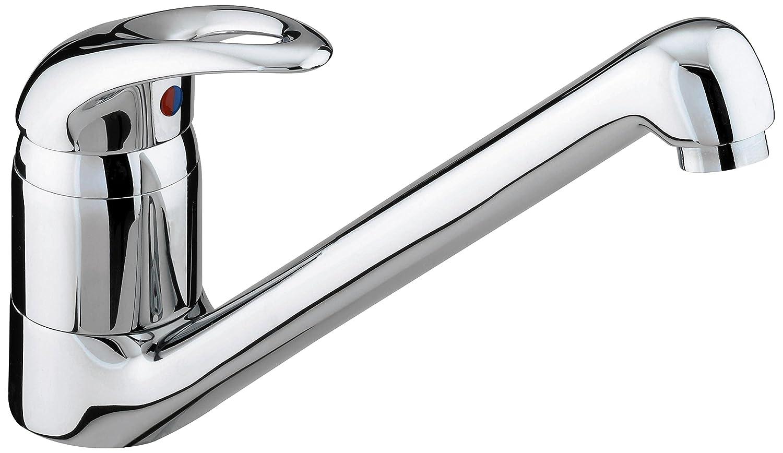 White Monobloc Kitchen Taps Bristan Java Single Flow Monobloc Sink Mixer Tap Chrome Plated