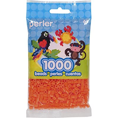 Perler Beads 80-15246 Fuse Beads for Crafts, 1000pcs, Tangerine Orange: Arts, Crafts & Sewing