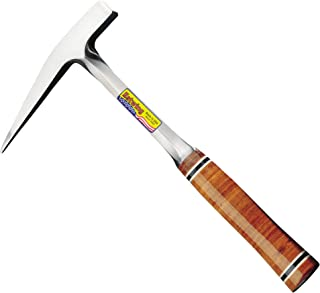 product image for Estwing Rock Pick - 13 oz Geological Hammer with Smooth Face & Genuine Leather Grip - E13P