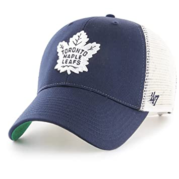 eb500a8a5f9a3 47 Brand Adjustable Cap - BRANSON Toronto Maple Leafs navy  Amazon ...
