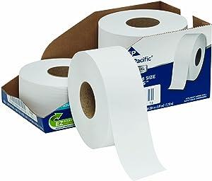 Georgia-Pacific Professional Series Jumbo Jr. 2-Ply Toilet Paper by GP PRO (Georgia-Pacific), 2172114, 1000 Feet Per Roll, 4 Rolls Per Case