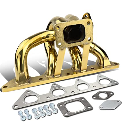Amazon.com: DNA Motoring TM-GD-010 Ram Horn Turbo Manifold [For 92-96 Honda Prelude]: Automotive