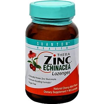 Amazon Com Thera Zinc Echinacea Lozenges Cherry Mint 48 Loz