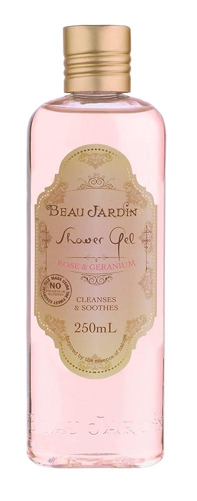 Beau Jardin Rose & Geranium Shower Gel 250ml: Amazon.co.uk: Beauty