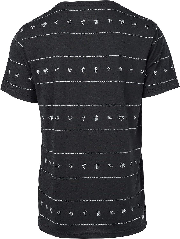 Rip Curl Flamingo Repeat SS VC tee Hombre, Camiseta, Camiseta ...