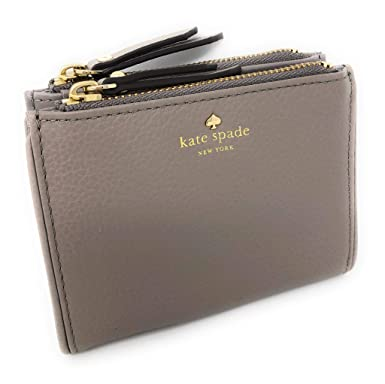 d9e33e66b71fe Amazon.com  Kate Spade Small Malea Larchmont Avenue Pebbled Leather Wallet  Cityscape  Clothing
