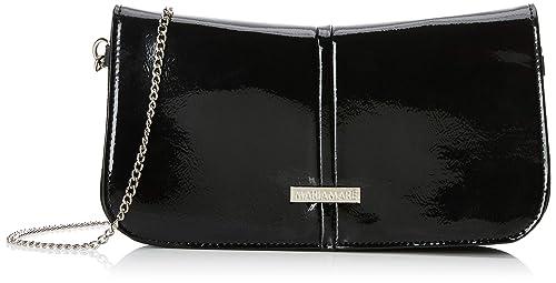 MARIA MARE Mariamare Bruna, Bolso de Mano para Mujer, Negro (Crarol), 3.5 x 14 x 26 cm: Amazon.es: Zapatos y complementos