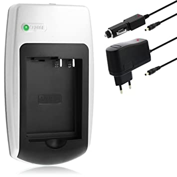Cargador DMW-BLC12 para Panasonic Lumix DMC-FZ200, DMC-G5, DMC-GH2