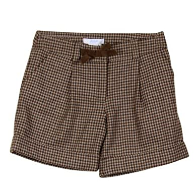 659f211a22955 Image Unavailable. Image not available for. Color: Jacadi Plaid Wool Shorts