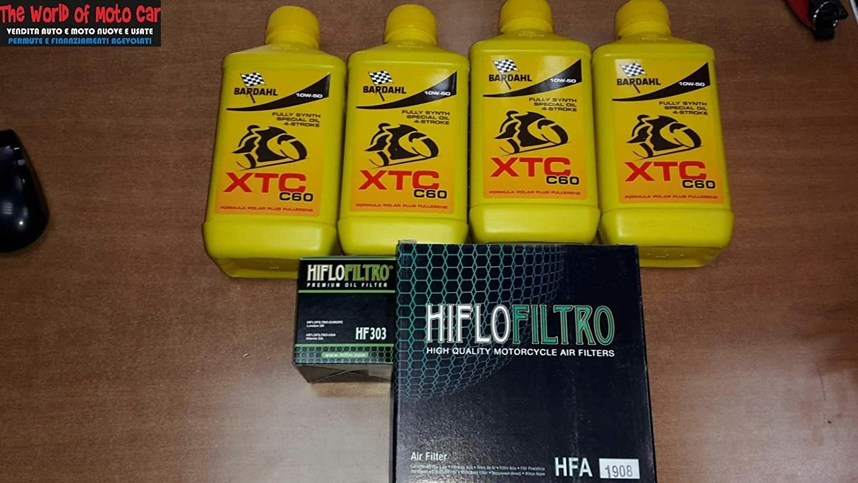 Wartungskit Vt 1100 C2 2 Shadow 95 98 Filter Öl Luft 4l Bardahl 10 W50 Auto