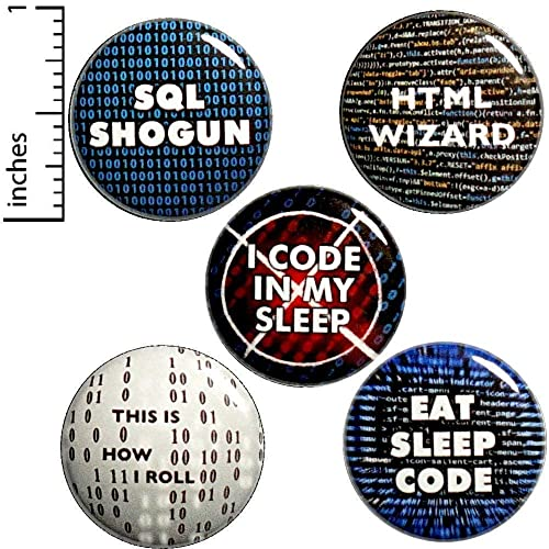 Amazon com: Funny IT Button 5 Pack Pins or Magnets 1 Inch P6