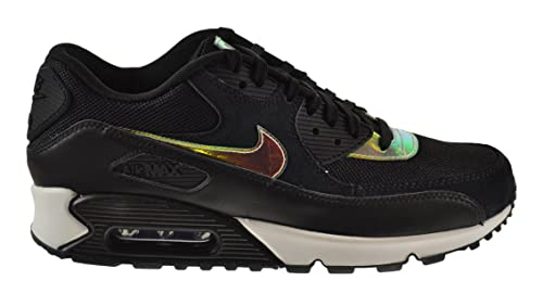 promo code bc8fb 783cb ... NIKE Air Max 90 Premium Men s Shoes Black Black-Black-Ivory 333888-  Nike  Air Force 1 (Ones) 1997 Mid SC NYC Midnight Navy Safety Orange  Nike hombre  ...