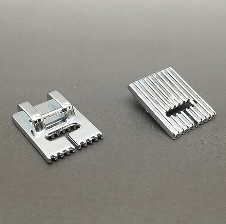 Compatible Pintuck prensatelas para máquina de coser 9 ranuras, para uso doméstico máquinas de coser