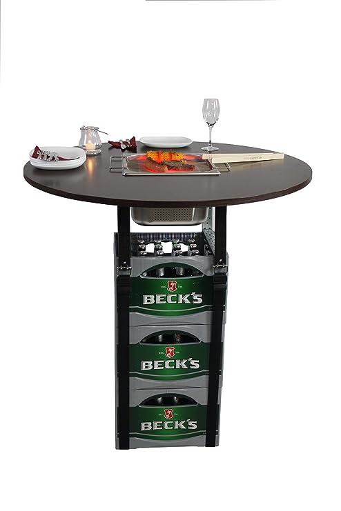 Rogge´s RelaxGrill Barbacoa Mesa Accesorio para Cajas de Cerveza ...